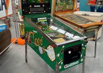 Tee'd Pinball Machine