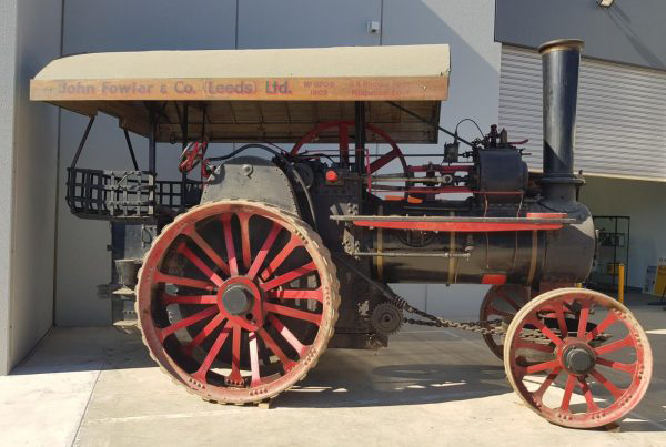 steam powered auction